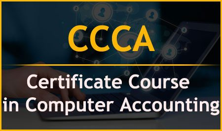 CCCA – Certificate Course in Computer Accounting